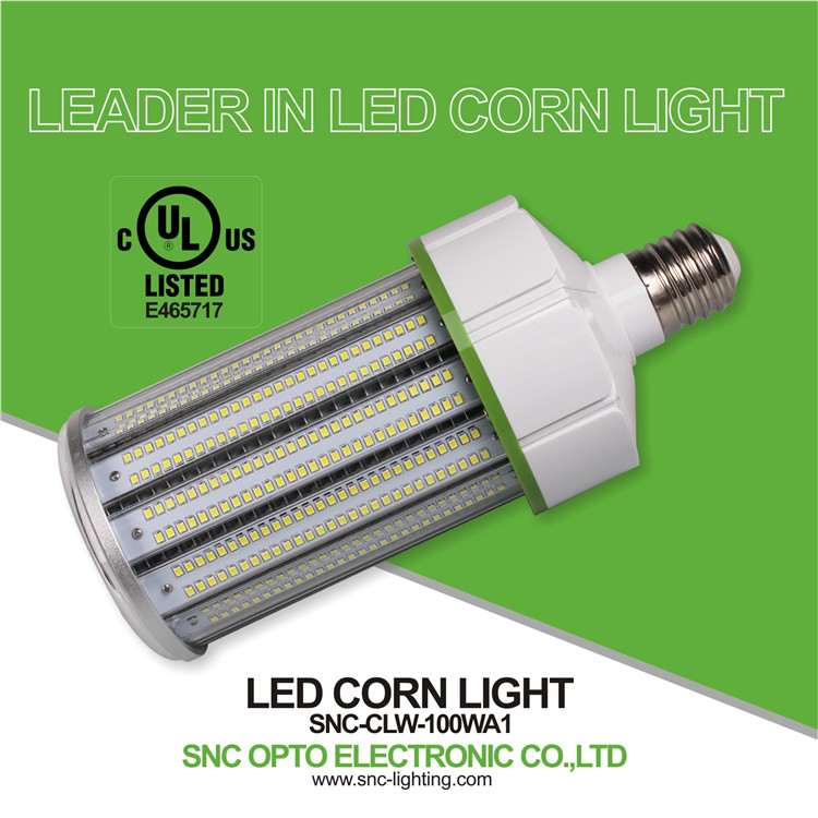 SNC leader light ltd 100w led corn lamp E39 base with Meanwell