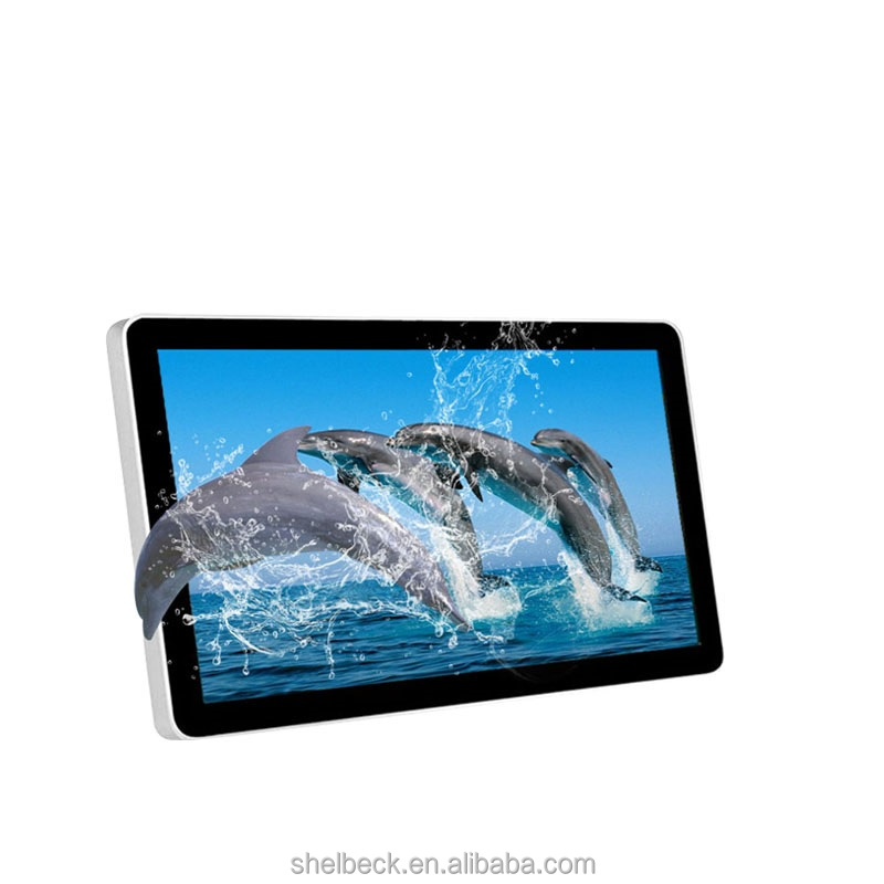 15.6 Inch Landscape Glass Free 3D advertising tablet for taxi