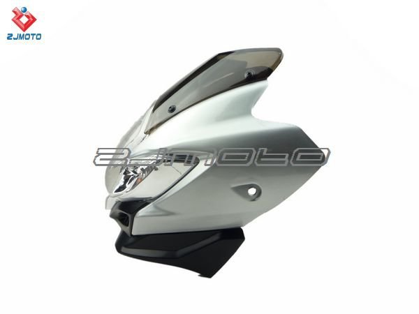 China motorcycle part Silver Colour Streetfighter Street Fighter Spyder Fairing Motorcycle Headlight