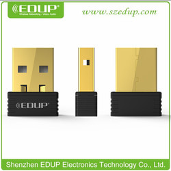 nano adapter wifi usb n EDUP EP-N8531 with 150mbps wifi extender network card
