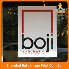 Full color waterproof paper sticker, advertising window poster