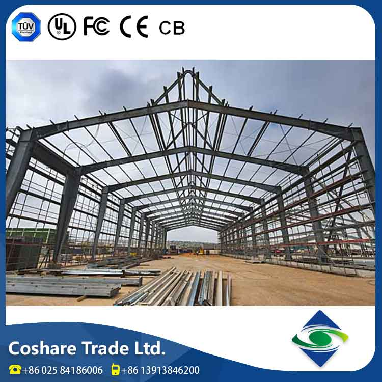 Coshare Complete Technology Super Good Plasticity fertilizer shed structure