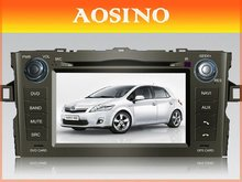 Aosino TOYOTA AURIS 2007-2011 Special Car DVD Player / Car GPS With Navigation PIP Steering Wheel Control bluetooth