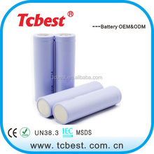 China manufacture 1400mah 3.6v li-ion rechargeable battery