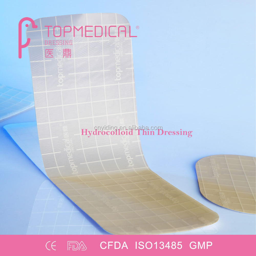 Advanced Sterile Hydrocolloid Extra Thin Dressing, Pressure Ulcer Wound Dressing