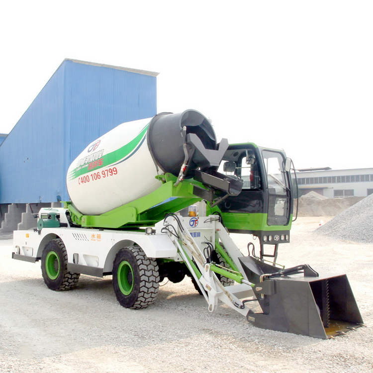 High Quality 4 CBM self loading concrete mixer truck for sale in nigeria