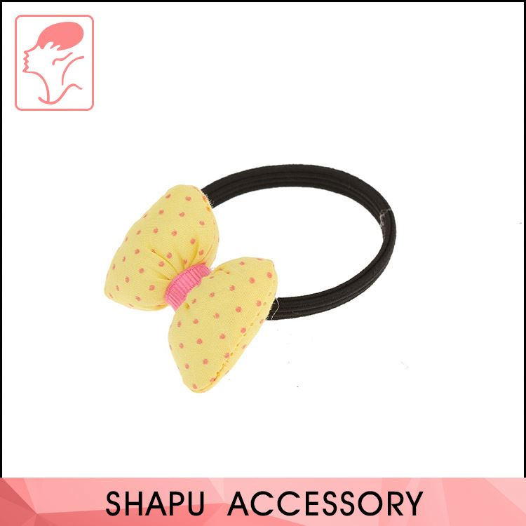 China Sale Non-Slip Solid Color Elastic Hair Ties