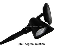 Outdoor solar garden high power spot led light