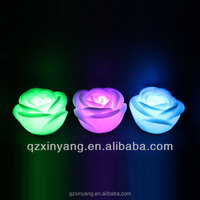 Flower Birthday Candle Water Floating Led Candle Tea Lights