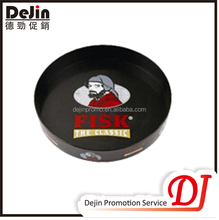 Promotional flat beverage serving tray
