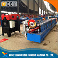 Steel panel downpipe roll forming machine / colored steel down spout down-pipe making machine