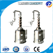 4 or 6 copper plate stainless steel reflux collumn still Milk Can Boiler Milk Can Distiller Whiskey moonshine distillery