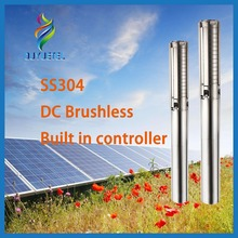 BOTU MPPT and DSP 1hp dc solar submersible pump price deep well pump