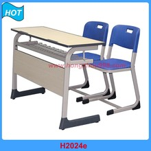 metal modesty panel classroom desk with chair
