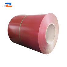 Hot dipped good quality color coated galvanized steel coil
