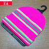 hot promotional fluorescence color children beanie hat knitting pattern