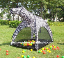 NEWEST PLAY TENT OF POP UP ZEBRA TOY TENTS