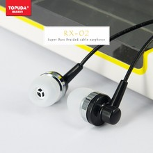 Newest design high quality Handsfree Receive Call&Music Portable wired earphones