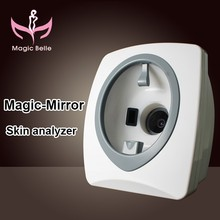 Smart system skin magnifying lamp analyzer skin test facial skin analyzer for clinic use
