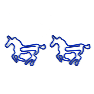 Customized Hot Selling Promotional Gifts High Quality Metal Animal Horse Shaped Paper Clips