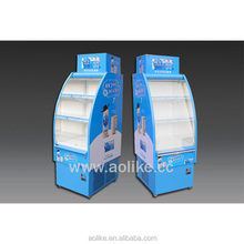 Supermarket commercial drinks display air cooler fridge