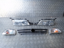 USED Front Headlights Lights Grill OEM for 97 Previa Estima Rear TCR10 TCR11 Kouki
