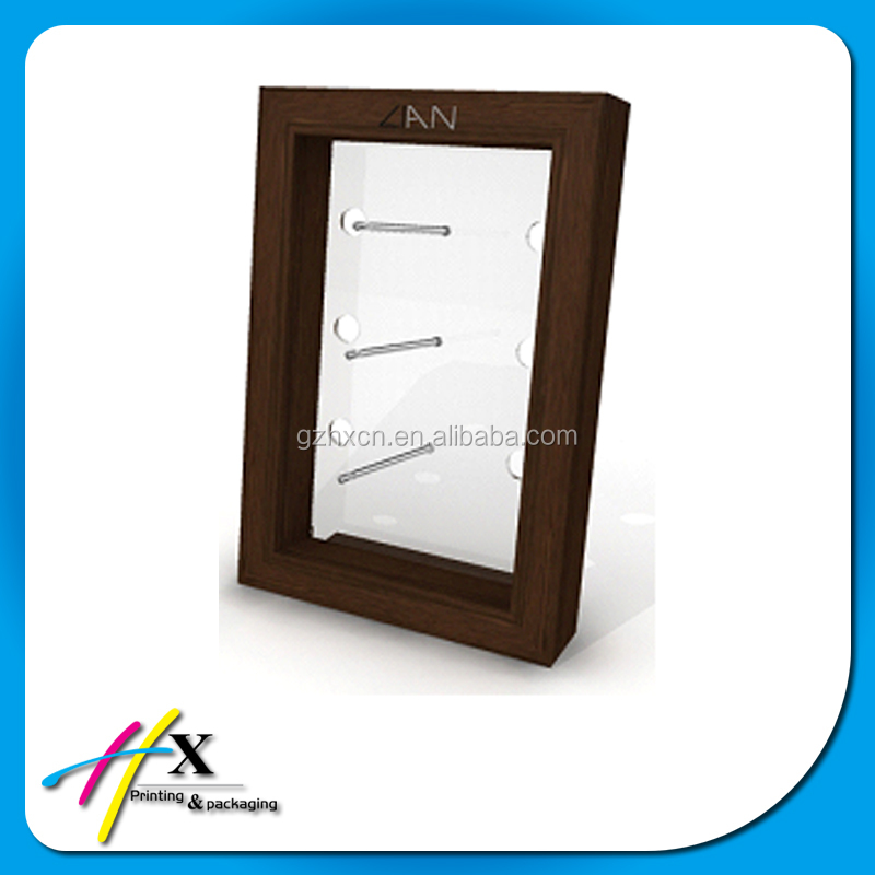 Glasses Frame Display : Wood Eyewear Display Wall Mount Sunglasses Optical Frame ...