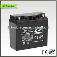 hot sale ups battery 12v 17ah with CE,ISO,12v power supply battery backup