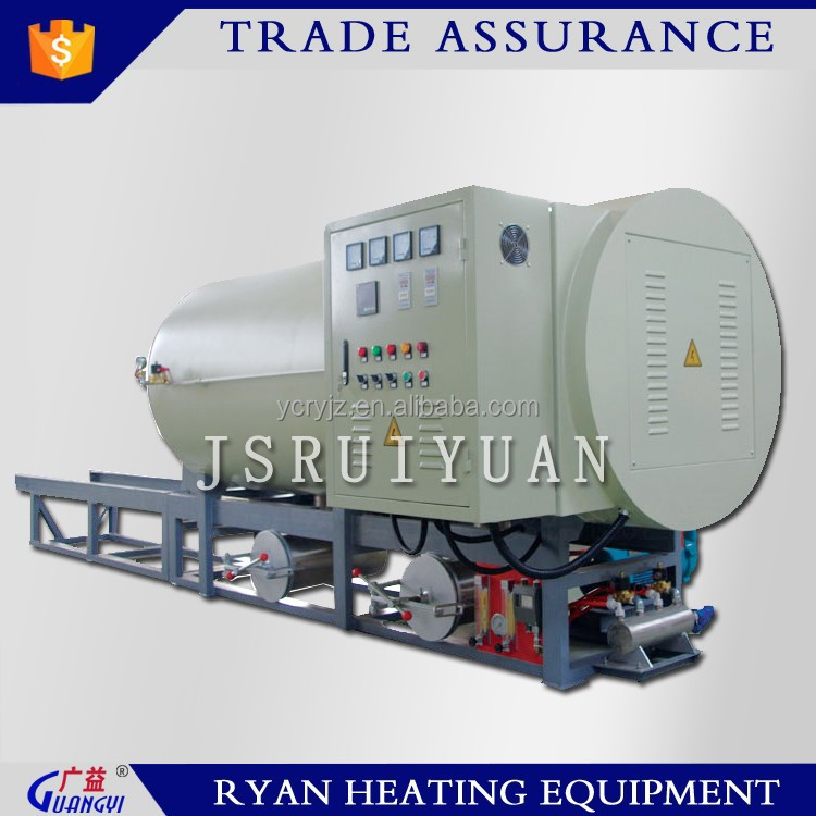 electric vacuum calcination furnace for polymer cleaning