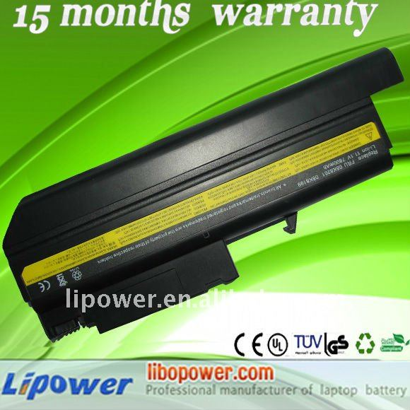 factory supply best price brand new laptop battery for IBM T40 T41 T42 7800wAh