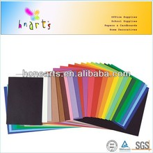constrution paper sheet with many colors,weight of construction paper