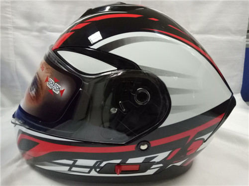 2017 latest design popular full face helmet dual visor yema helmet YM-831