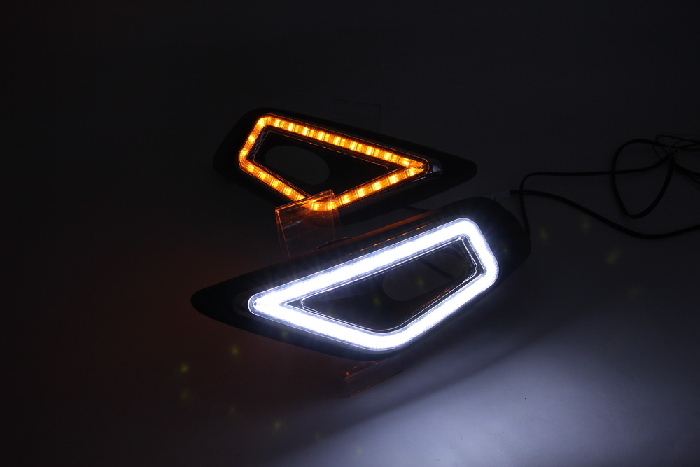 Top Quality Daytime running Light for Honda Jade 2014 Car LED Light drl