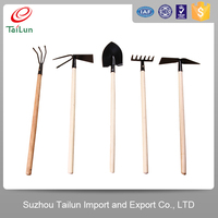 mini farmimg tools set names farming shovel digging tools spade made in china