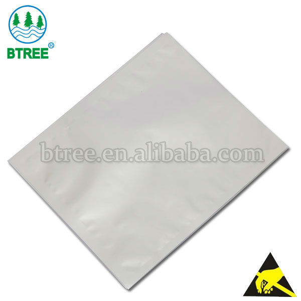 Electrostatic Discharge Aluminum Foil Packaging Bag To Prevent Damage From ESD