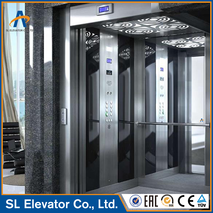 Passenger lift electrical outdoor residential elevators