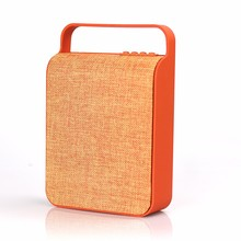 Portable fabric materials 10w bluetooth speaker HS-345