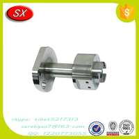 Aluminum strong style color cnc strong machined parts with advanced measuring and testing equipment