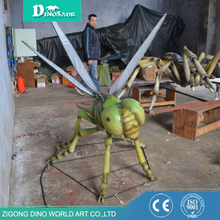 Indoor Playground Large Animatronic Dragonfly Model