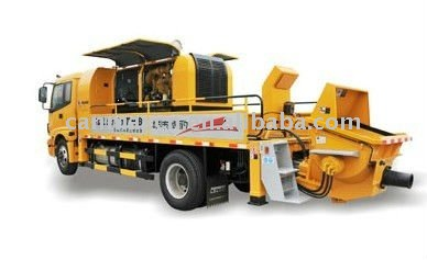 Truck-mounted line concrete pump HDL5131THB