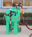 Mobile dustless building sand blasting machine pavement cleaning sand blaster