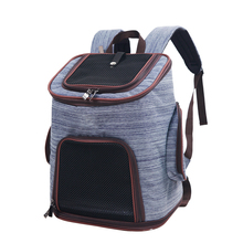 ODM fashion new denim pet backpack for man and women