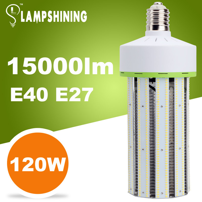 Saving money for long runing DLC led corn light 120w replace 400w watt metal halide see more at http www lampshining com UL