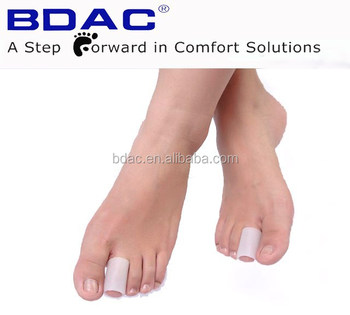 Foot finger protector gel tube toe cap finger cover