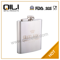 Stainless Steel Mobile Phone Hip Flask