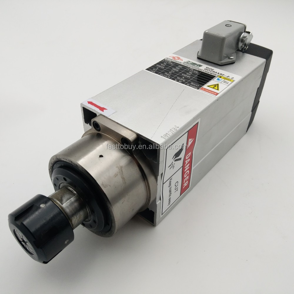 GDZ93x82-2.2(220V) 1.21Nm 10A 18000rpm AC 220 Volt 2.2kw CNC Spindle Motor 2.2kw Air Cooled