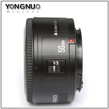 hot sale 50mm yongnuo YN50MM camera lens F/1.8 AF/MF auto focus large aperture for canon Nikon DSLR camera
