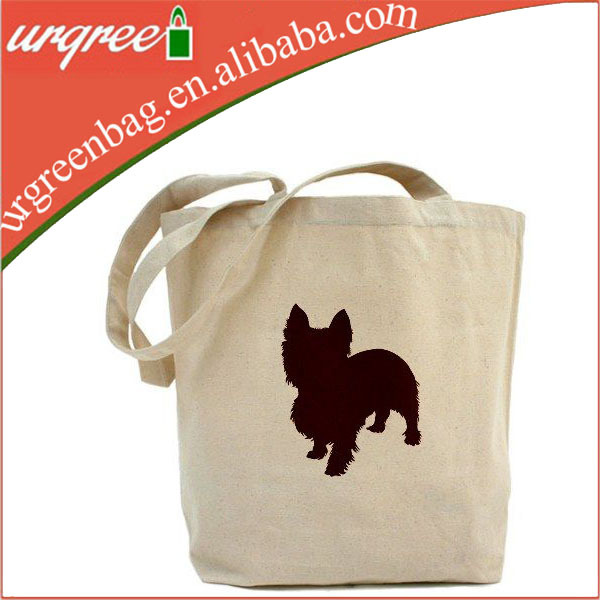 Super Lovley Puppy Patterned New Cotton Shopping Bag