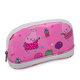 Portable Christmas Gift All-Over Print Beauty Children Shell Shape Water Resistant Shiny PVC Cosmetic Bag