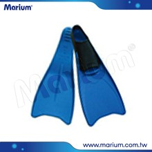 Swimming Diving Equipment Full Foot Pockets Long Blade Rubber Fins